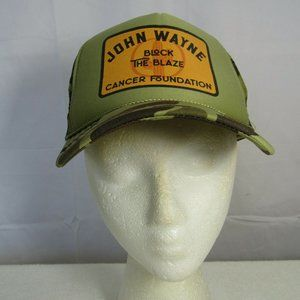 John Wayne CAMO Block the Blaze Trucker Hat